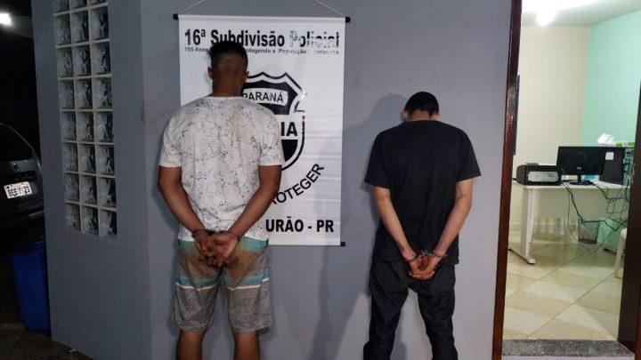 POLICIA MILITAR PRENDE TRÊS PESSOAS E RECUPERA OBJETOS APÓS ASSALTOS NO JARDIM SANTA CRUZ