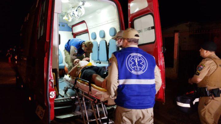 Homem é esfaqueado no Jardim Modelo e Dois carros colidiram na avenida Guilherme de Paula Xavier