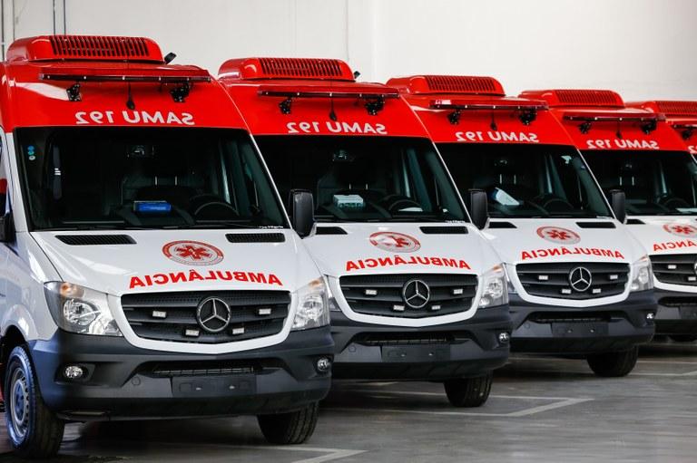 SAMU de Campo Mourão adquiriu 3 novas ambulâncias.