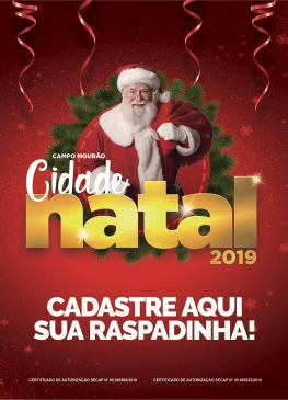 Natal:  Primeiro sorteio de prêmios  do comércio será no dia 29