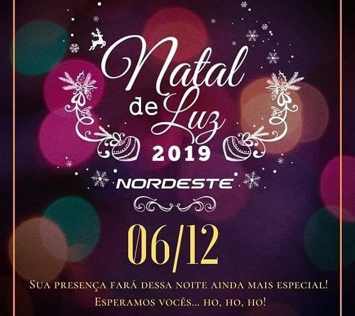 Expresso Nordeste realiza espetáculo natal de luzes nesta sexta-feira