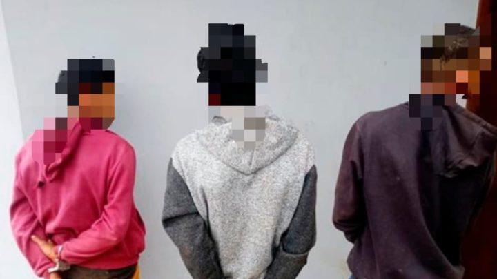 Polícia prende três em Janiópolis, um com mandado por latrocínio, um por furto e um por posse de arma