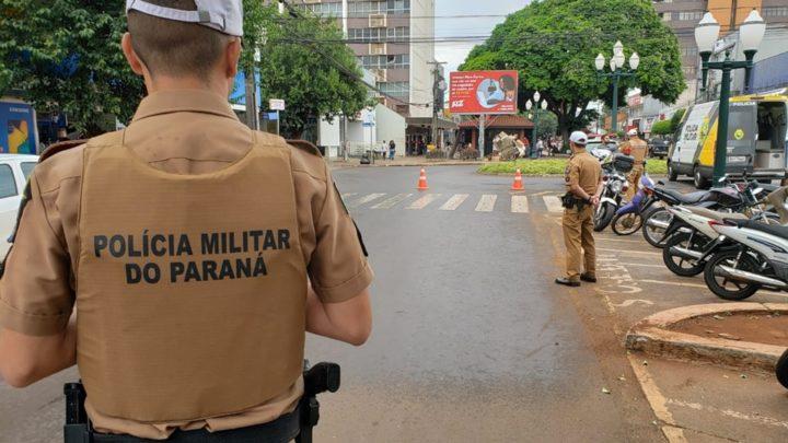 Polícia Militar realiza blitz educativa sobre regulamentação de ciclomotores