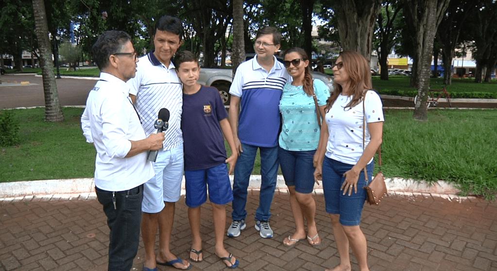 Turistas ficam encantados com a cidade de Campo Mourão