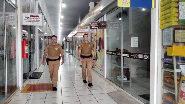 Lojas do Mercadão Municipal de Campo Mourão são arrombadas e furtadas durante a madrugada