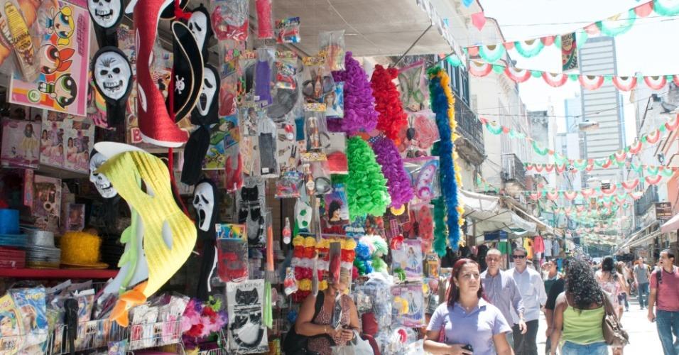 Carnaval: Comércio fecha na segunda e terça-feira e abre na quarta-feira normalmente