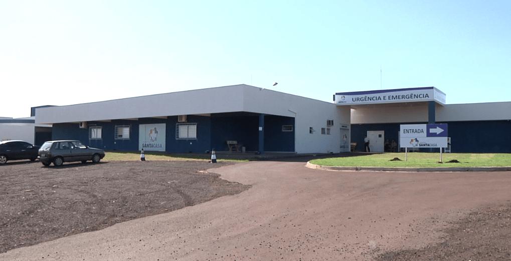 Dos 11 leitos da UTI Covid-19 do hospital Santa Casa de Campo Mourão 04 tem pacientes