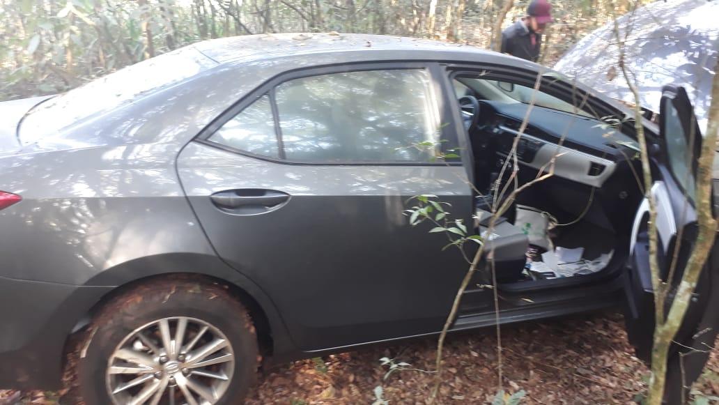 Polícia Militar recupera veículo tomado de assalto na região de Goioerê