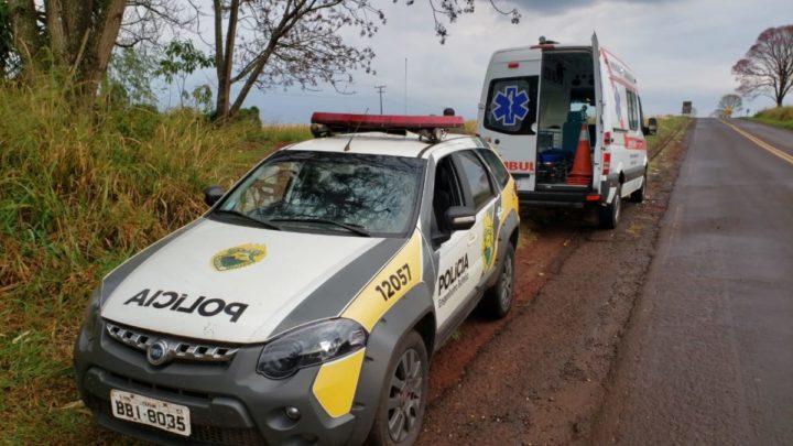 Homem é encontrado morto ás margens da rodovia PR-082 em Engenheiro Beltrão