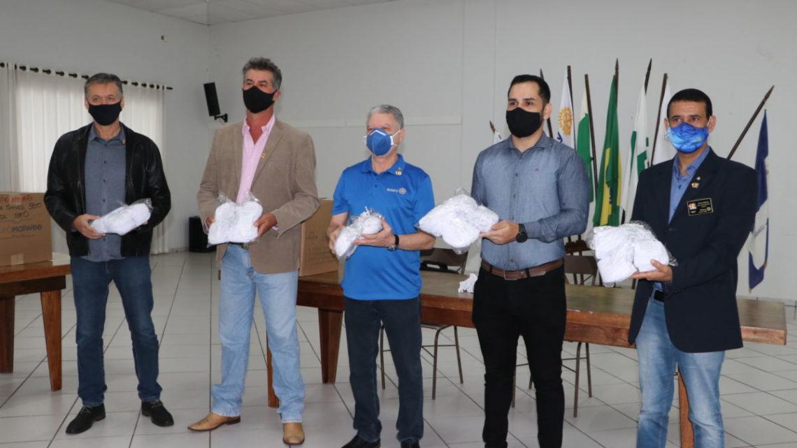 ROTARY Campo Mourão recebe 5 mil máscaras para distribuição no município