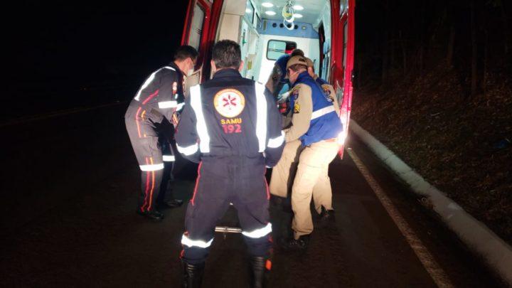 Estrada Boiadeira : Ciclista é atropelado por caminhão e motorista foge sem prestar socorro