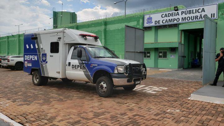 Mais 62 presos são transferidos da 16°SDP para a nova Cadeia Pública de Campo Mourão