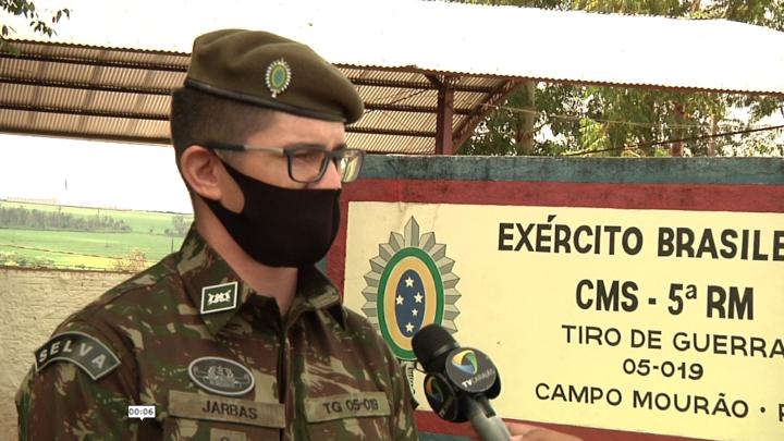 Sargento do Rio Grande do Sul assume comando do Tiro de Guerra 05-019 de Campo Mourão