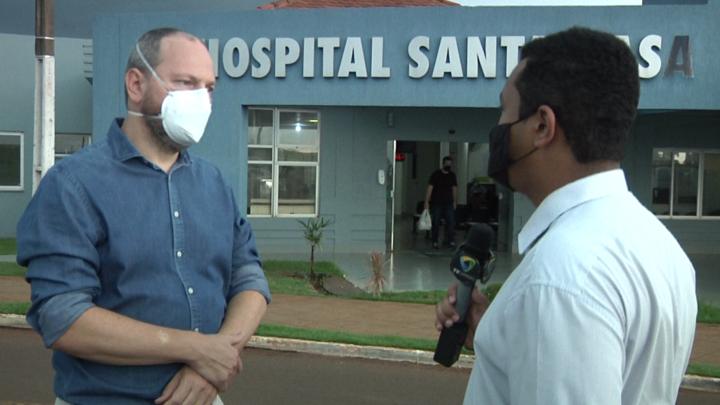"""""""Estado de saúde do presidente da ACICAM teve uma leve melhora"""" afirma médico"""
