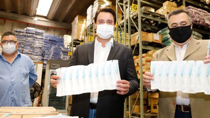 Paraná está pronto para iniciar vacinação contra Covid-19, diz Ratinho Junior