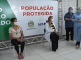 Médica e Auxiliar de enfermagem são as primeiras vacinadas em Campo Mourão