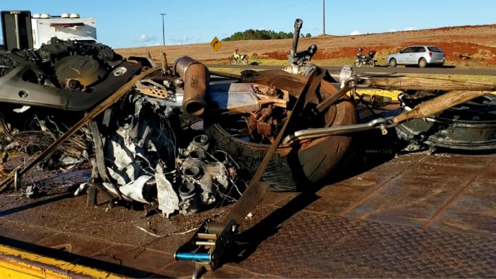 Homem morre em acidente com moto na PR-317 entre Floresta e Engenheiro Beltrão
