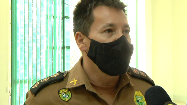 Comando regional da PM visita prefeito de Campo Mourão