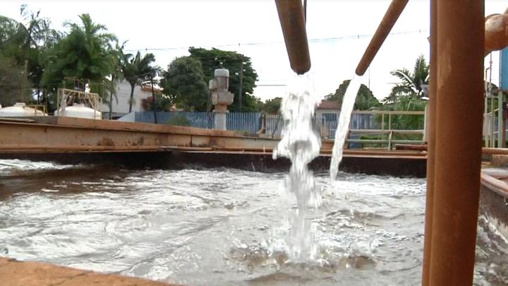 Como está o abastecimento de água na região