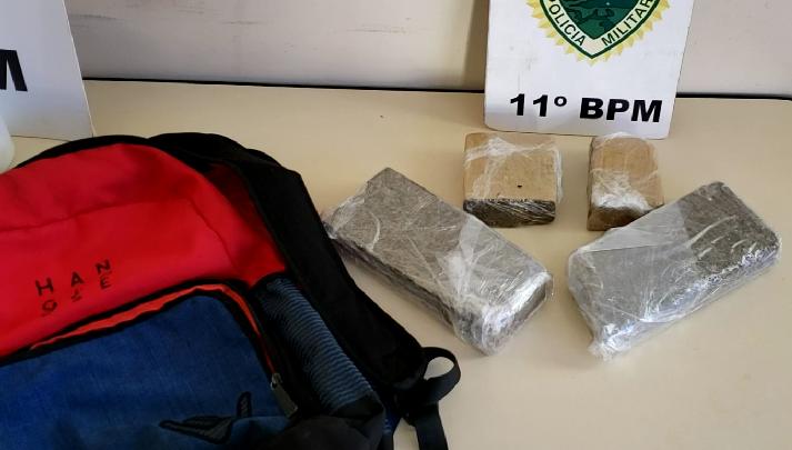 Rapazes de Iretama são presos por tráfico de drogas em Campo Mourão