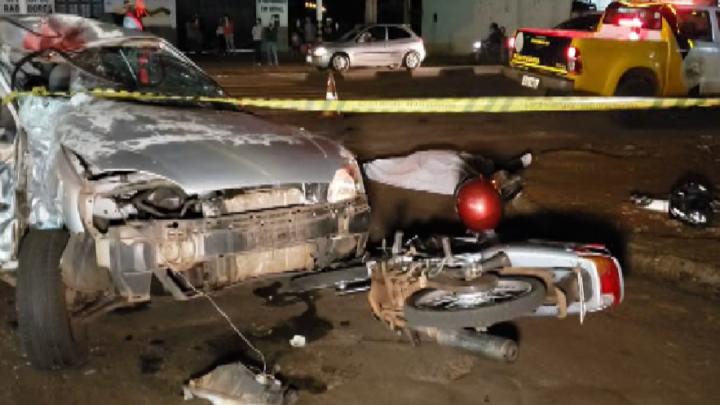 Motociclista morre em grave acidente na Perimetral