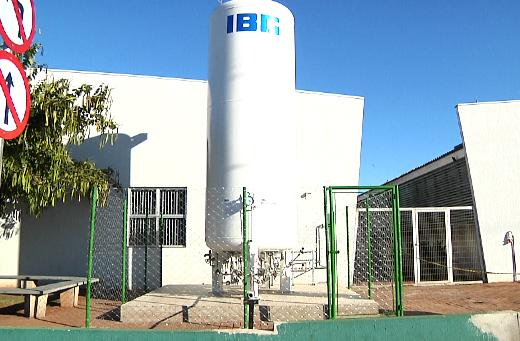 Reservatório de oxigênio garante tranquilidade no atendimento na UPA
