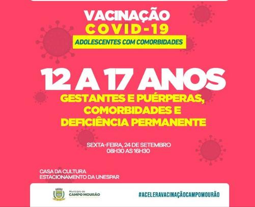 Cidades do Paraná com doses remanescentes podem vacinar adolescentes