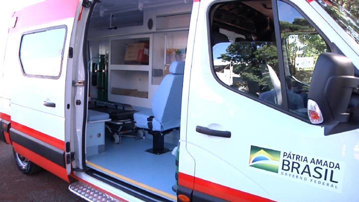 Samu regional recebe ambulância 0 km do Estado